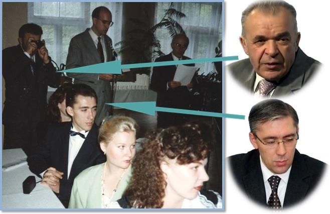 """На свадьбе присутствовали нынешний """"черный кардинал"""" Я. Сивульский, а фотографом """"подрабатывал"""" В. Калин"""
