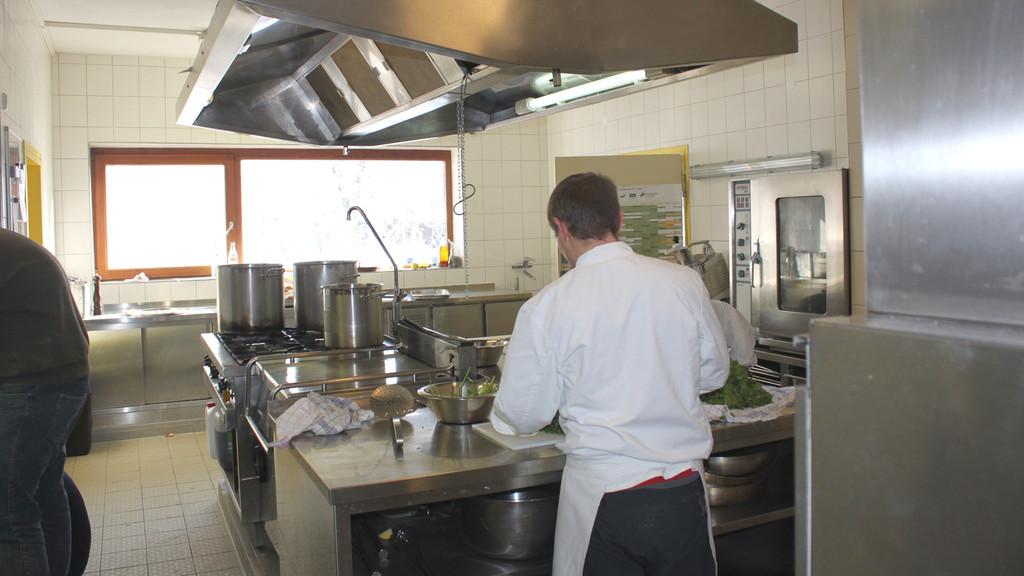 Die Küche im Haupthaus