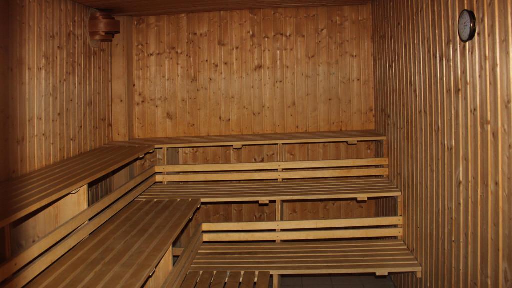 Die Sauna im Haupthaus