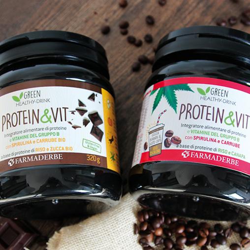 disponibile al gusto cacao e al gusto caffè
