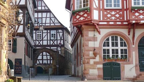 Fachwerk in Heppenheim