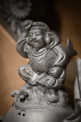 Ebisu, god of wealth