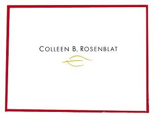 Colleen B. Rosenblat Schmuck Präsentation