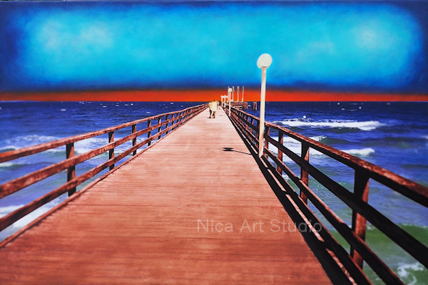 The pier, 2020, 3 : 2 print, see more at topical