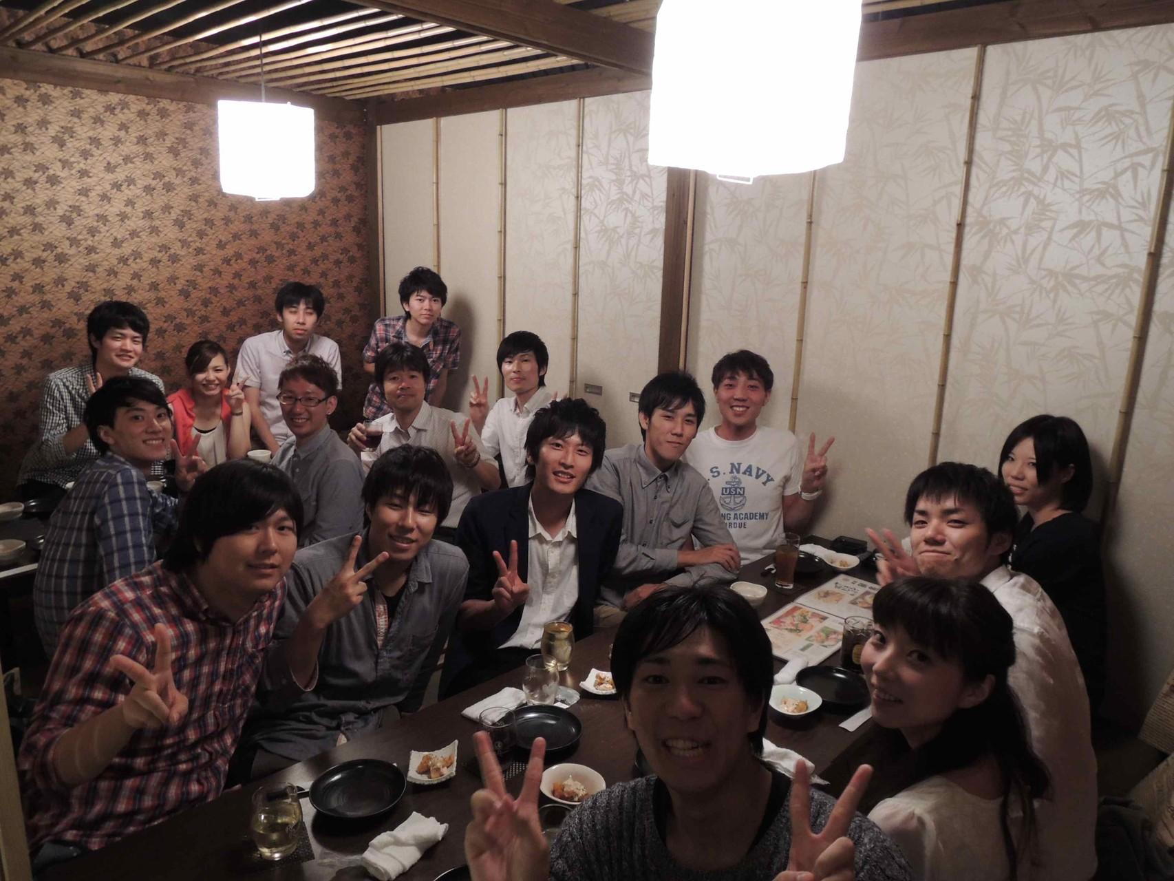 金子研5周年記念パーティー2次会(2015.8.29)
