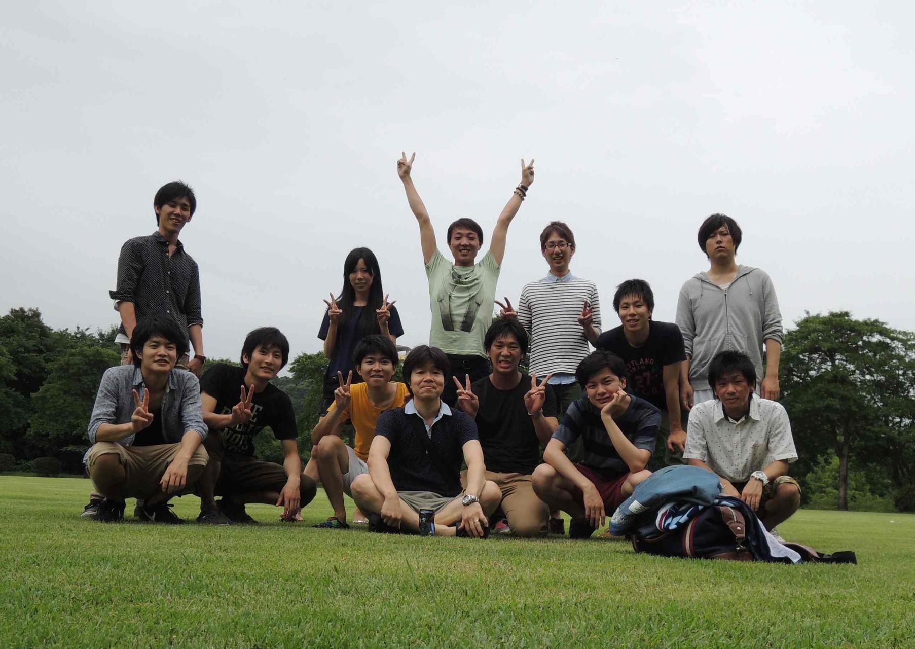 研究室旅行 かごしま健康の森公園(2014.7.12)