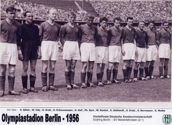 1956 Viertelfinale Dt.Amateurmeisterschaft in Berlin