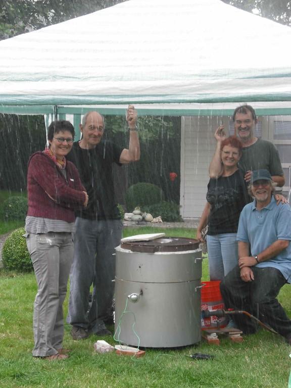 Wally Asselberghs & Sue Morse à Ottignies : la pluie ne nous arrête pas !