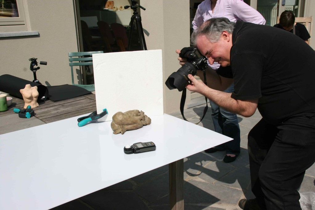 """Philippe Carly : """"Bien photographier vos pièces céramiques"""""""