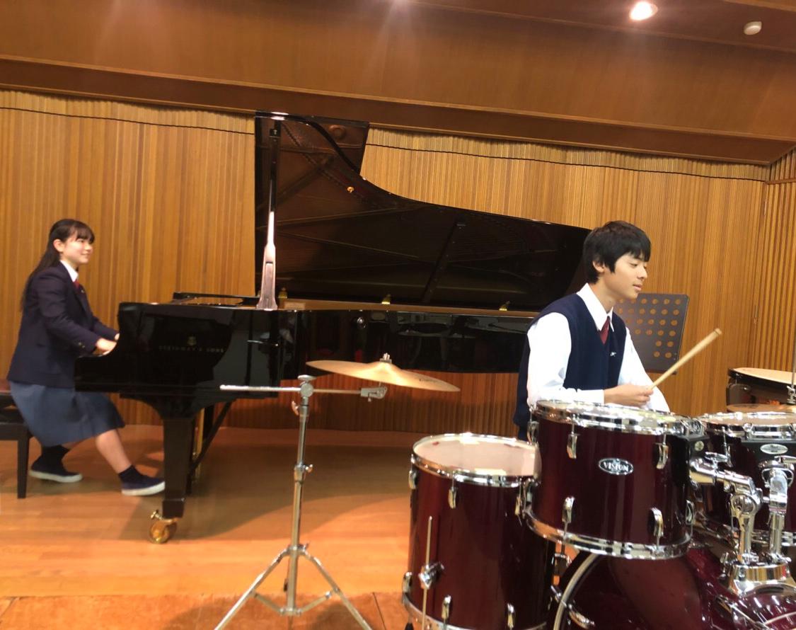 MK ピアノとドラムのジャズセッション