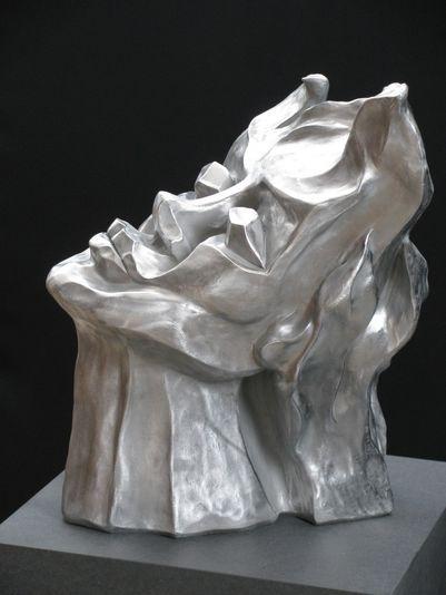 """""""Feuer und Flame"""" 2009 - Aluminium - 50 cm"""