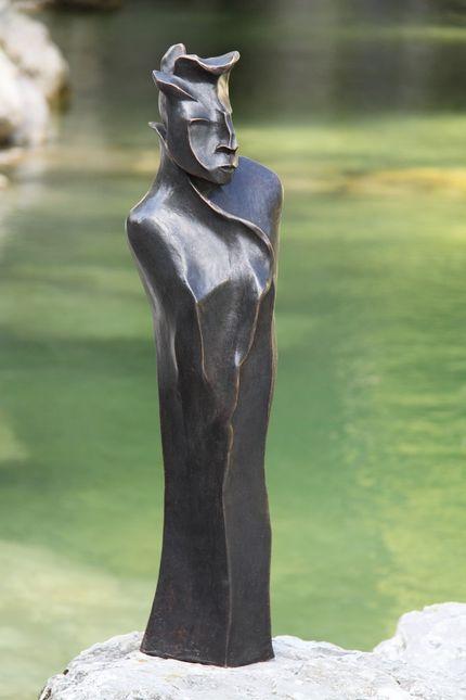 """"""" Mephisto"""" 2011 - Bronze gebeizt - 61 cm"""