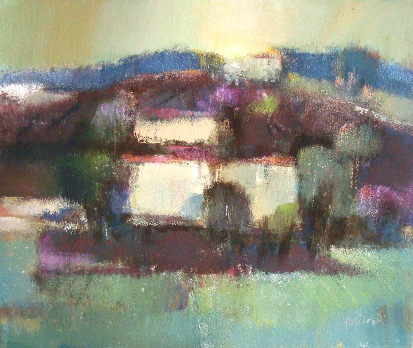 """Era di Primavera"" 1990 - Öl auf Leinwand - 50x60 cm"