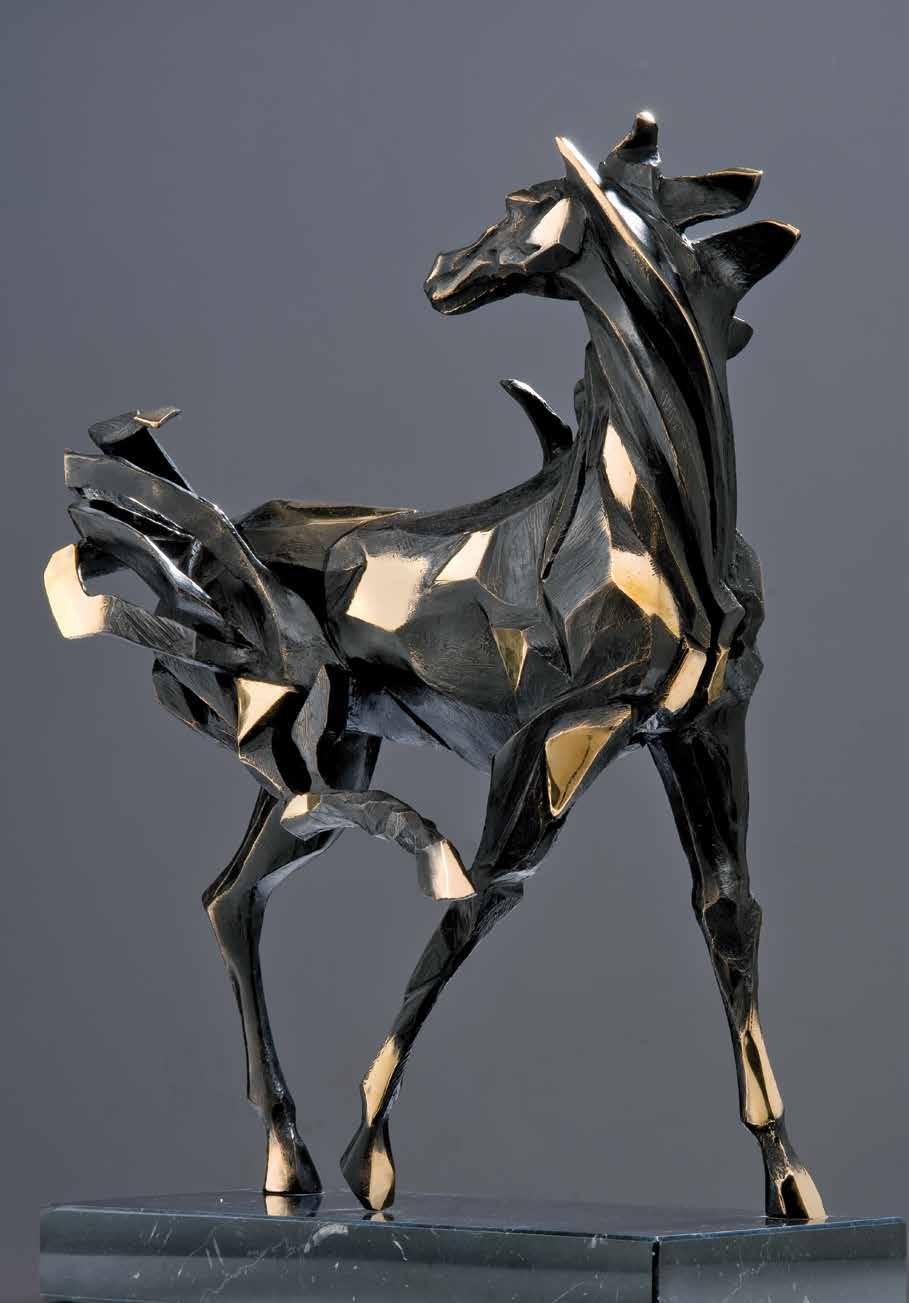 """""""Aggressivitá di madre"""" - Bronze - 44x34x17cm"""