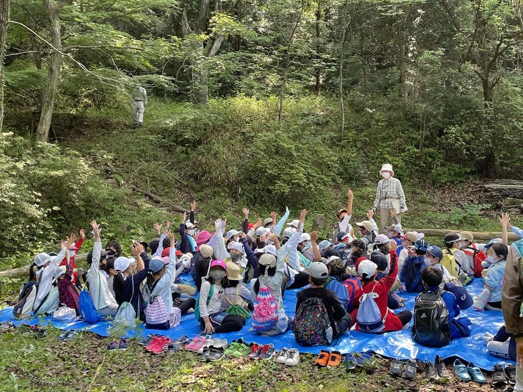 東山台小学校3年生自然学習 2021.6.24