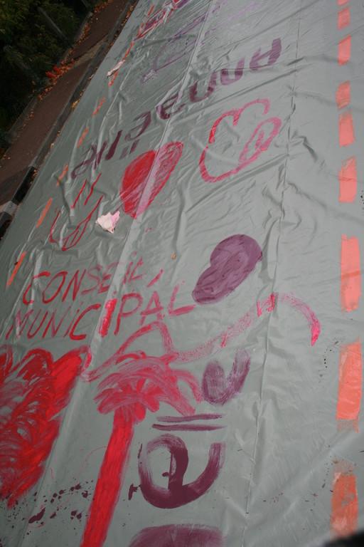 changer la rue changer la vie octobre 2010...(photo Marion RUAUD)