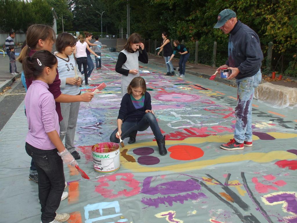 Changer la rue, changer la vie 16 octobre 2010 ( photo association AVENIR)
