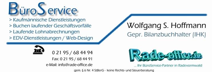 Büroservice, lfd. Buchhaltung und Lohnabrechnungen, Kaufmännische Dienste, EDV, Webdesign