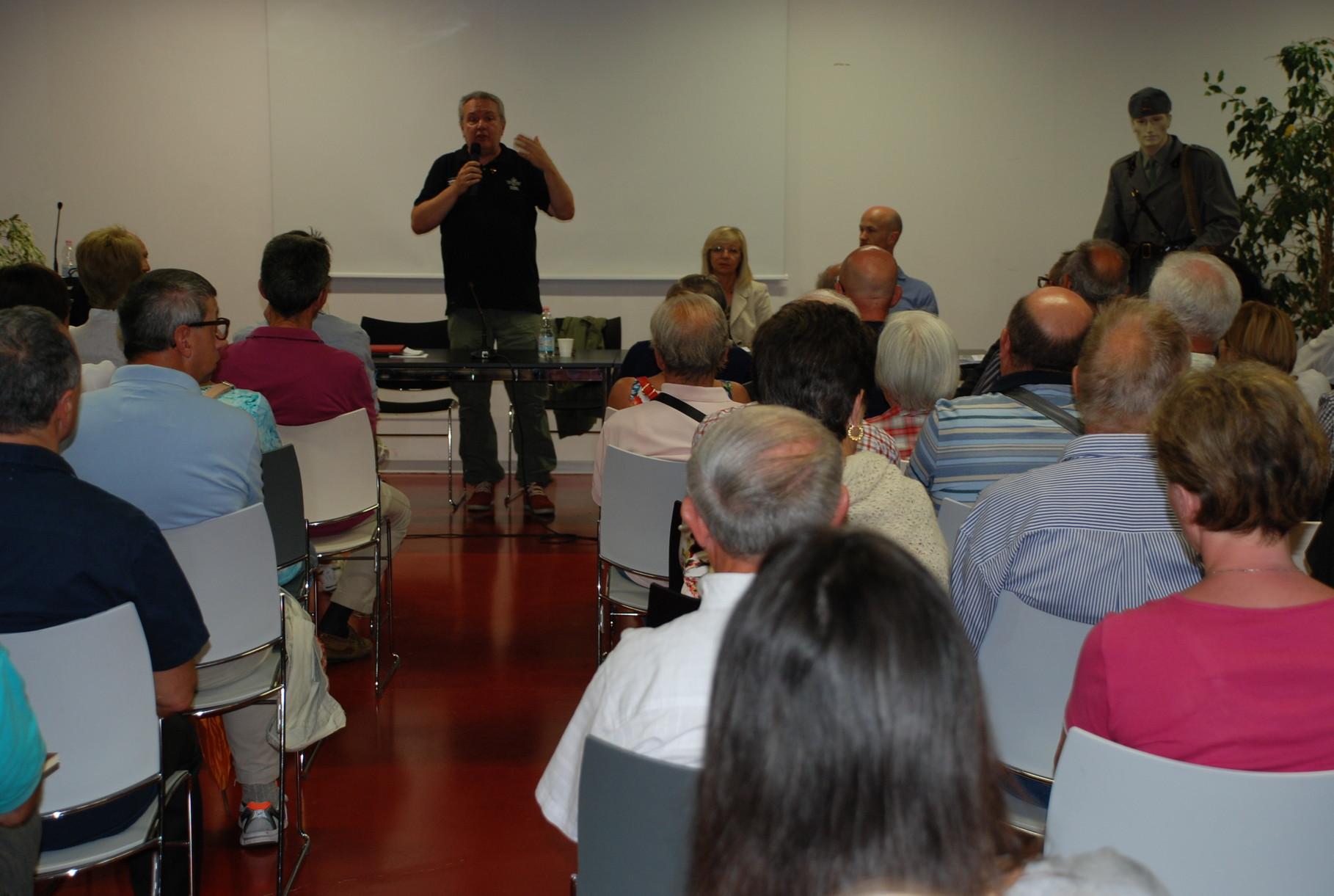 Presentazione del regista Mauro Vittorio Quattrina
