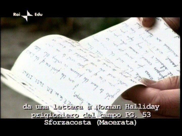 Una delle centinaia di lettere destinate ai campi di lavoro dei prigionieri di guerra che si trovavano nella zona di Pol di Bussolengo...