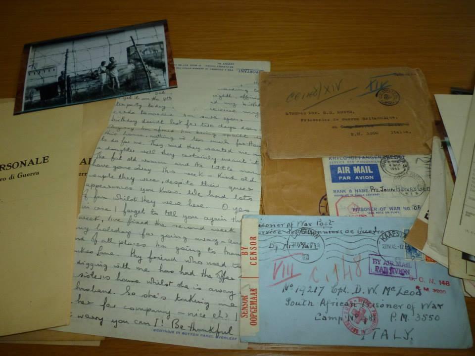 Alcune lettere dei Campi per P.G. 148