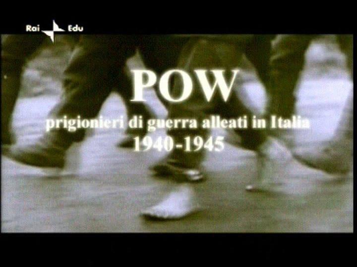 """POW Prigionieri di Guerra Alleati in Italia 1940-1945 Il documentario, ideato scritto e diretto da Mauro Vittorio Quattrina per RAI3 """"La storia siamo noi"""", è un inedito assoluto nel panorama documentaristico italiano, in quanto racconta la storia dei pri"""