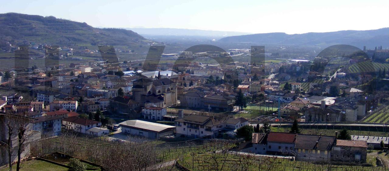 Panorama di Montecchia di Crosara