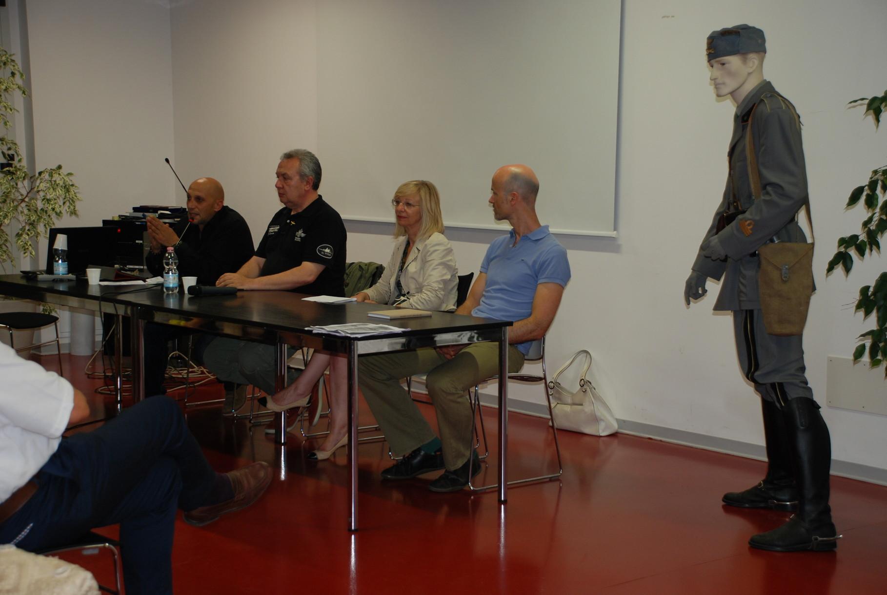 Presentazione dell'Archivista del Comune di Bussolengo Ferdinando Montresor