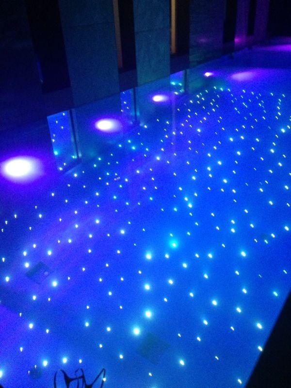 Iluminación por fibra óptica