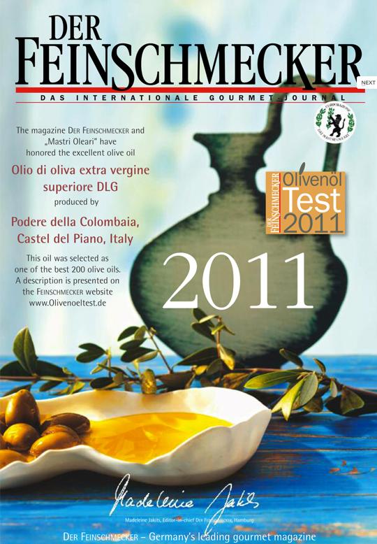 Zum Ölbaron Feinschmecker Olio Award 2011 Winner