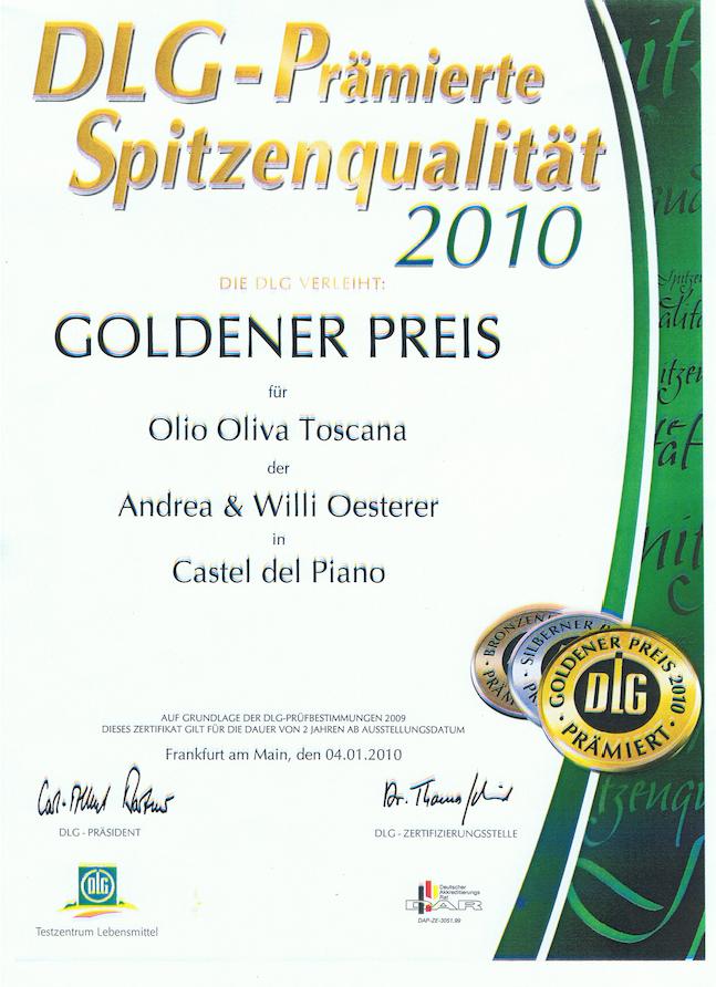 Zum Ölbaron DLG Gold 2010