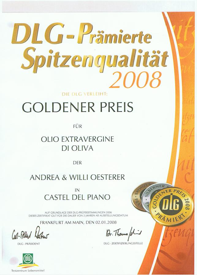 Zum Ölbaron DLG Gold 2008