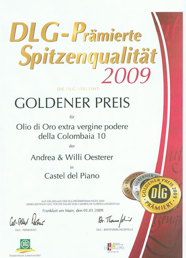 Zum Ölbaron DLG Gold 2009