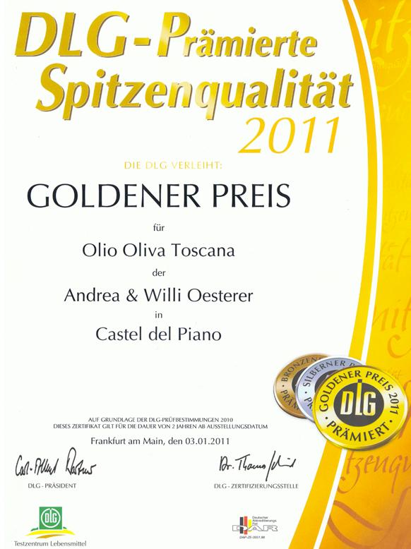 Zum Ölbaron DLG Gold 2011