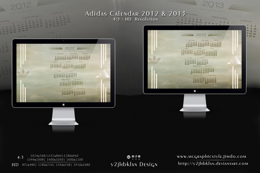 Adidas Calendar