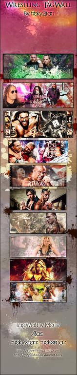 Wrestling TagWall