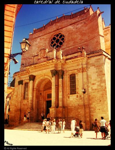 La cattedrale di Ciutadella Minorca