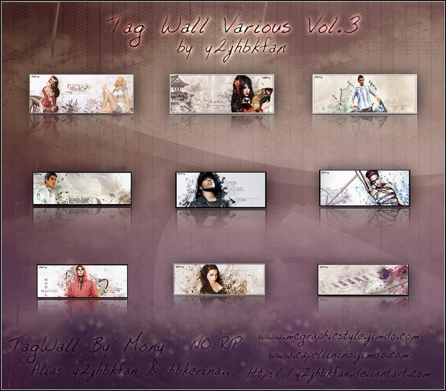 Tag Wall Various vol III