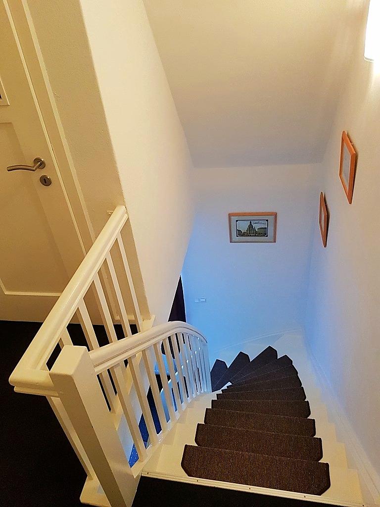 ... bekommen Sie Zugang zum Obergeschoss. ...