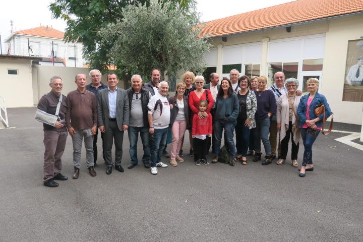 Visite du maire Julien Ravier