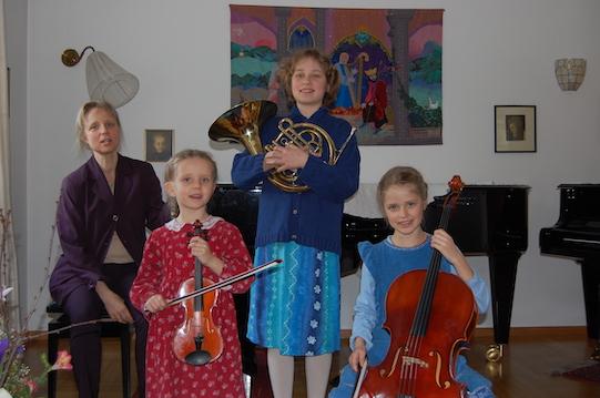 Klavierunterricht und Geigenunterricht in Fürstenfeldbruck