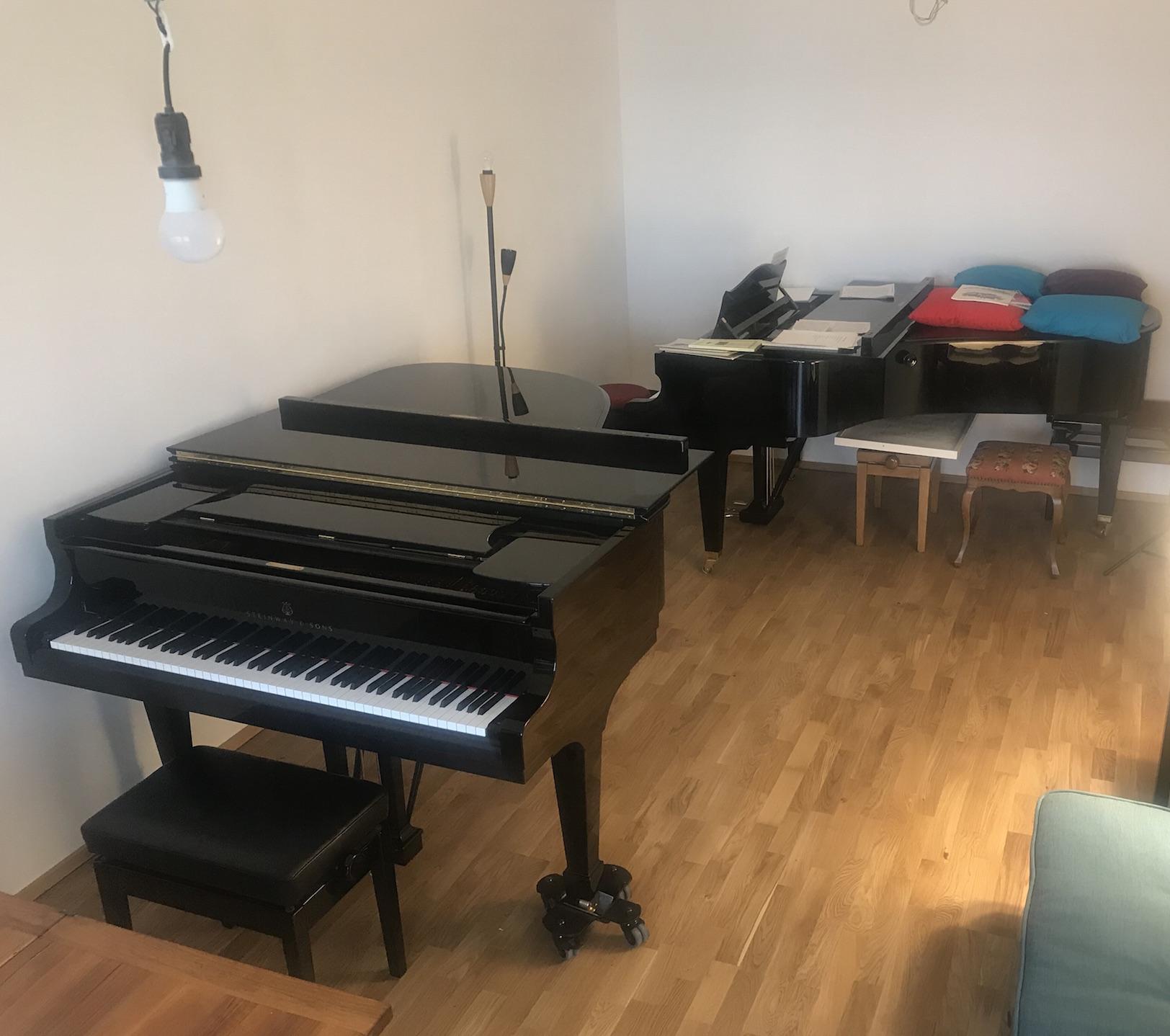 Standort für Klavierunterricht in 81371 München-Sendling