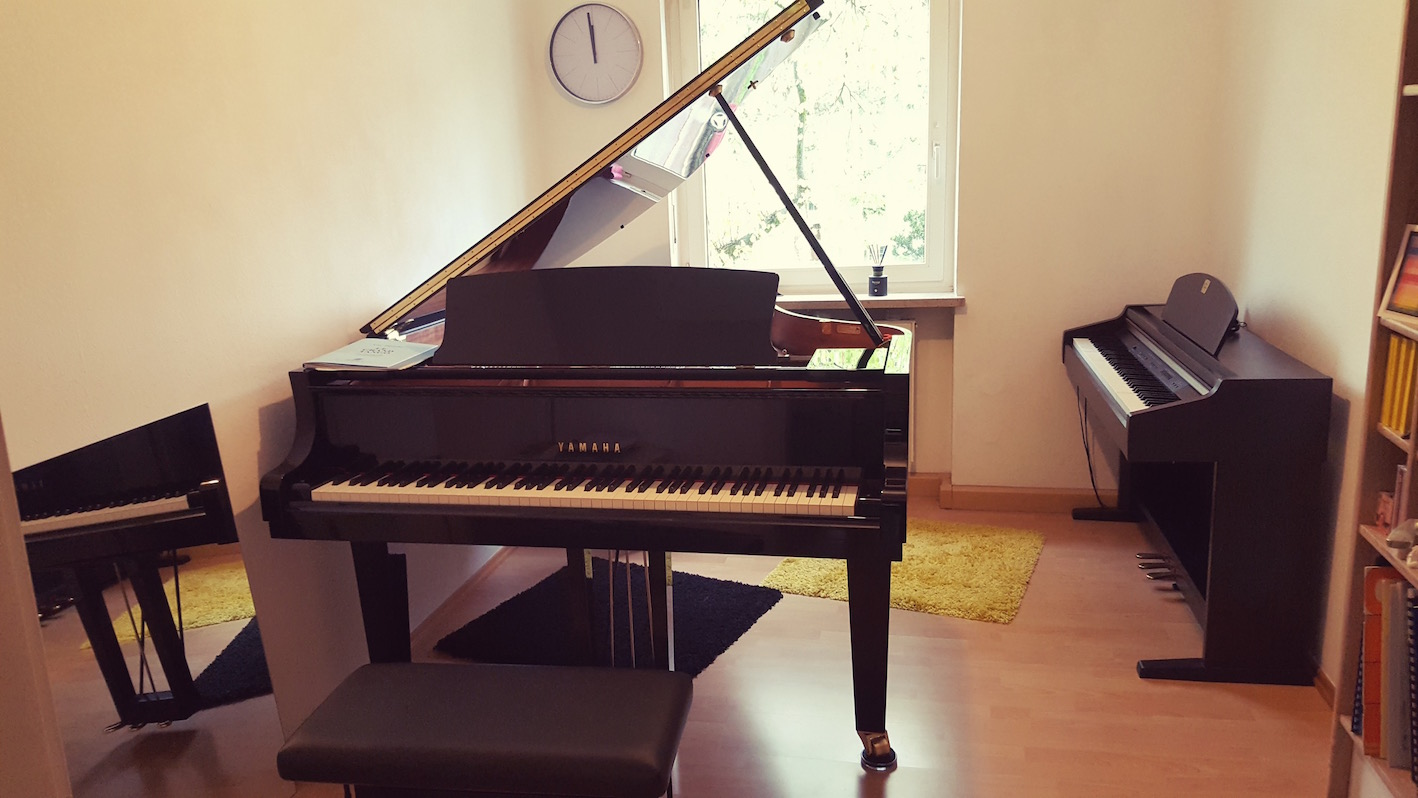 Standort für Klavierunterricht in 81379 München-Obersendling