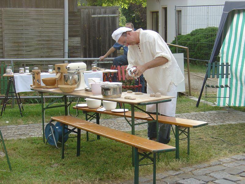 Ein Winzer kann auch mal Bäcker sein !