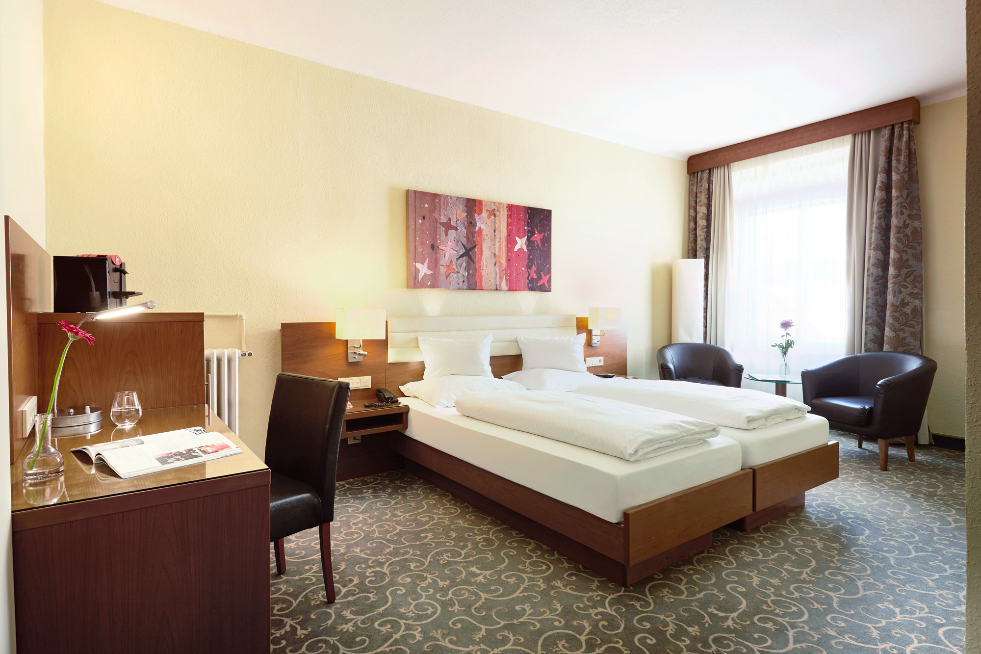 Doppelzimmer Classic ab € 131,50 pro Nacht inklusive Frühstück & Ortstaxe
