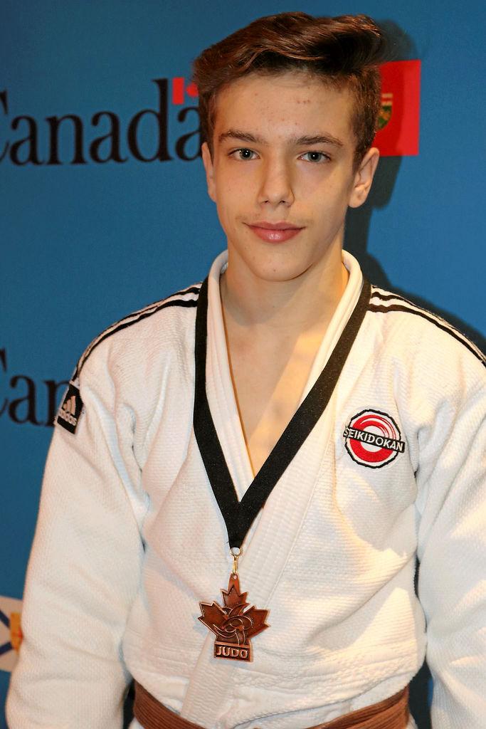 Justin Tremblay, médaille de bronze au top 8 Canada