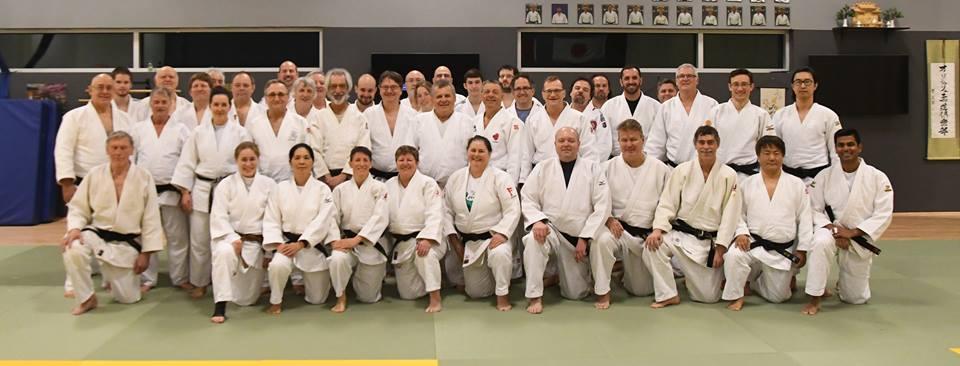 Stage de kata Kôdôkan Goshin-jutsu à St-Jean-sur-Richelieu tenu samedi le 3 février 2017.
