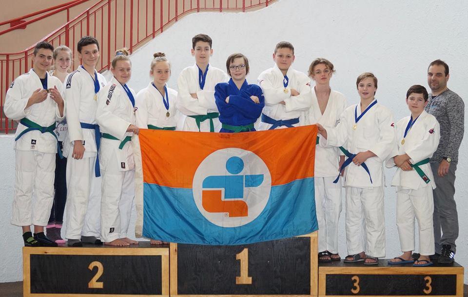 La délégation de la Mauricie en Judo pour les jeux du Québec 2017