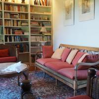 Le salon bibliothèque