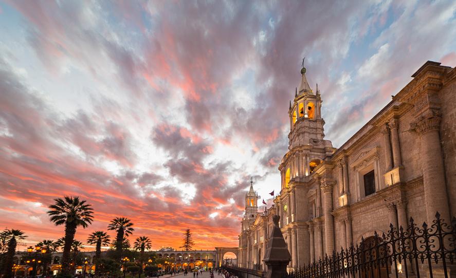 Arequipa - die weiße Stadt aus Sillargestein